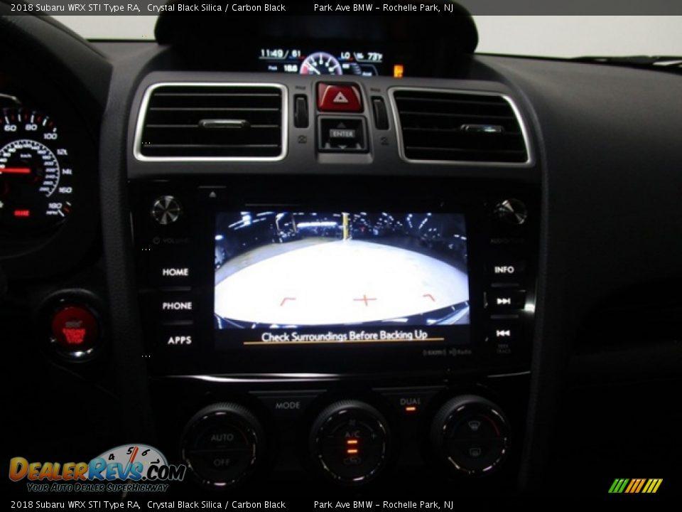 Controls of 2018 Subaru WRX STI Type RA Photo #25