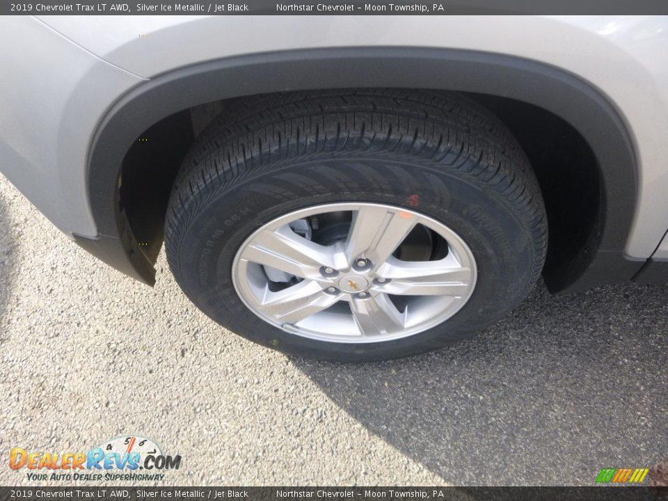 2019 Chevrolet Trax LT AWD Silver Ice Metallic / Jet Black Photo #2