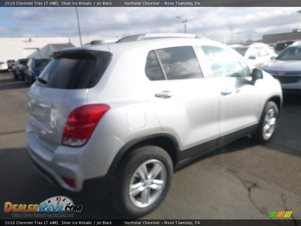 2019 Chevrolet Trax LT AWD Silver Ice Metallic / Jet Black Photo #6