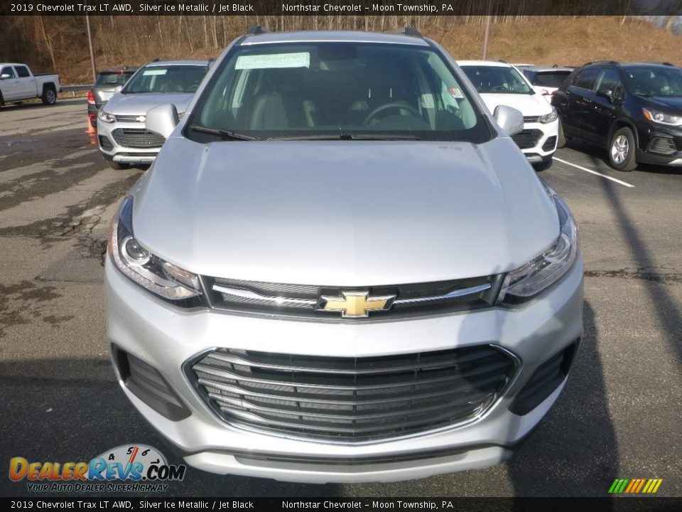 2019 Chevrolet Trax LT AWD Silver Ice Metallic / Jet Black Photo #9