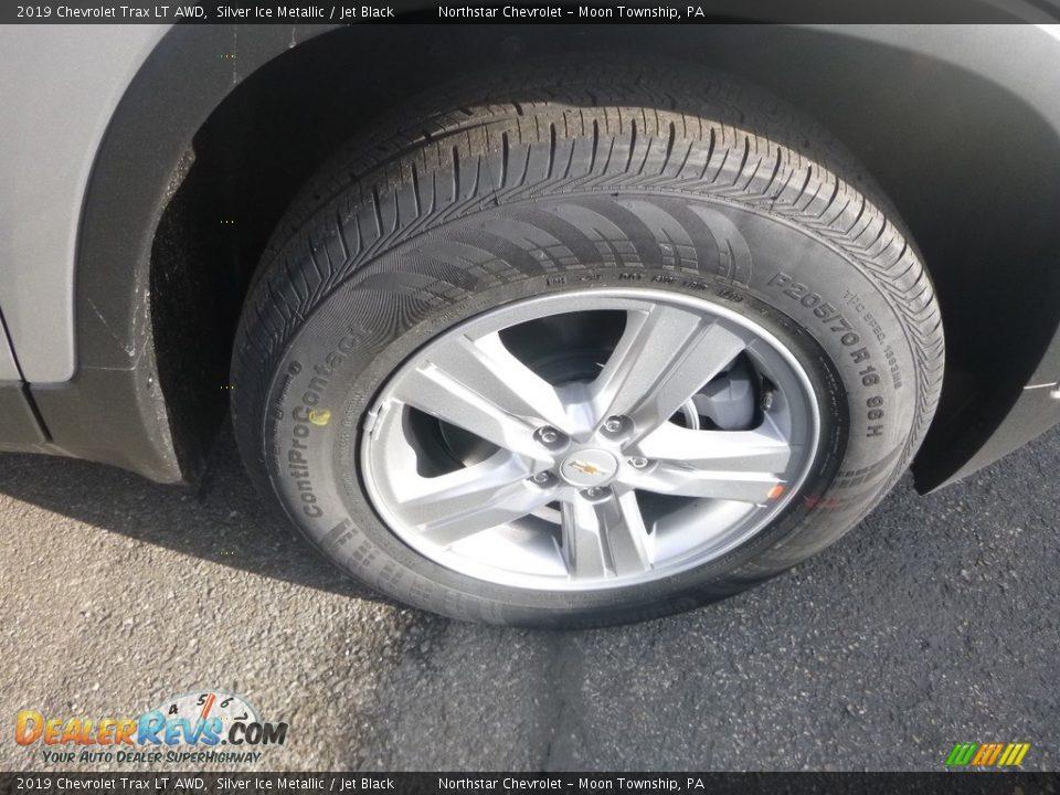 2019 Chevrolet Trax LT AWD Silver Ice Metallic / Jet Black Photo #10