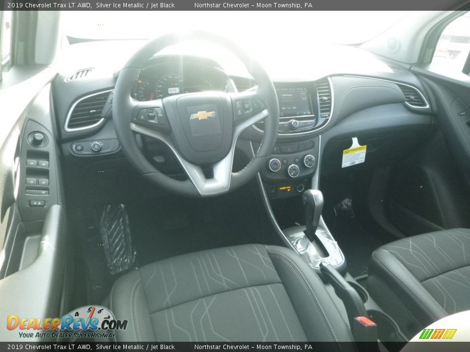 2019 Chevrolet Trax LT AWD Silver Ice Metallic / Jet Black Photo #14