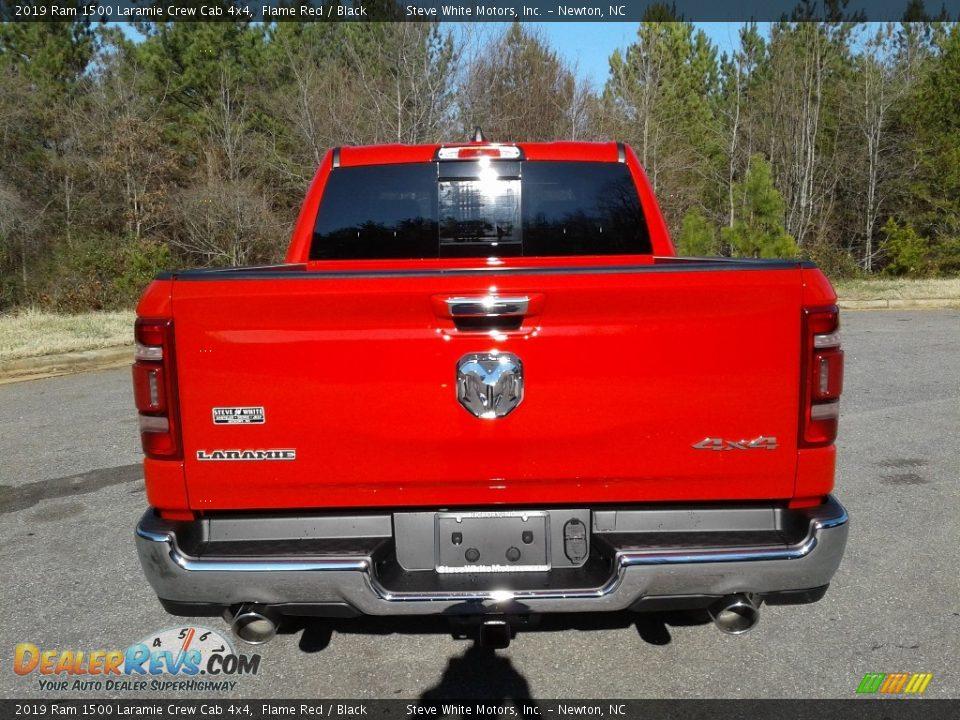 2019 Ram 1500 Laramie Crew Cab 4x4 Flame Red / Black Photo #7