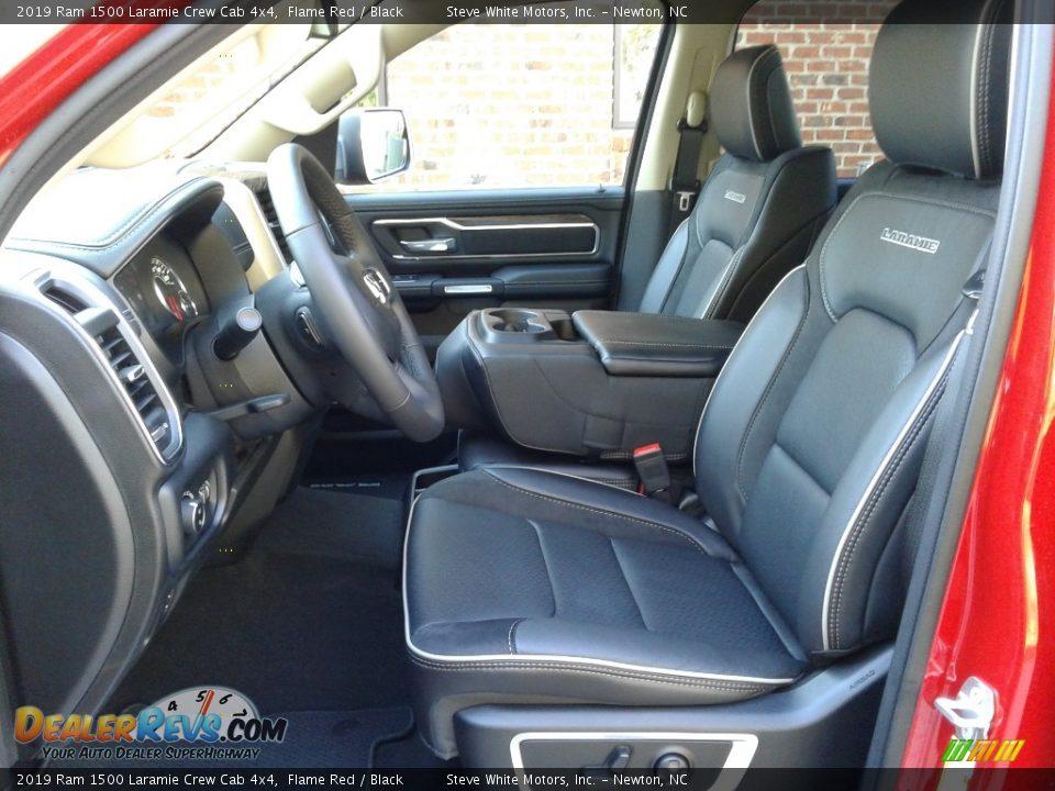 2019 Ram 1500 Laramie Crew Cab 4x4 Flame Red / Black Photo #10