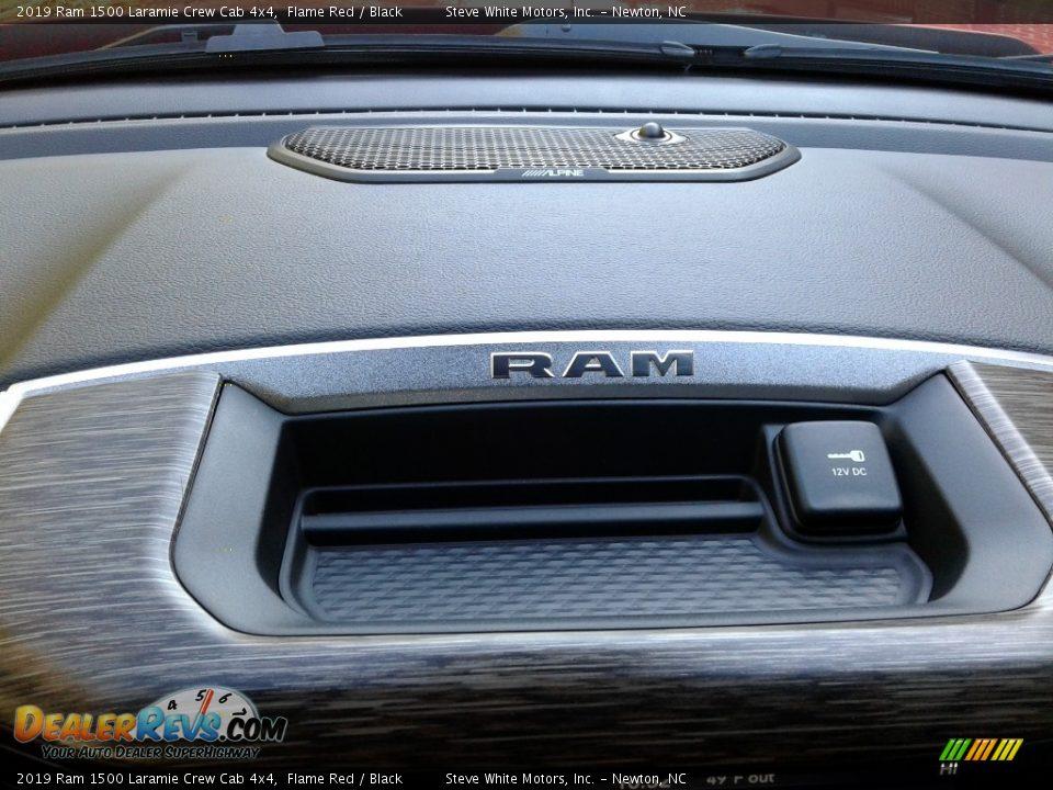 2019 Ram 1500 Laramie Crew Cab 4x4 Flame Red / Black Photo #32