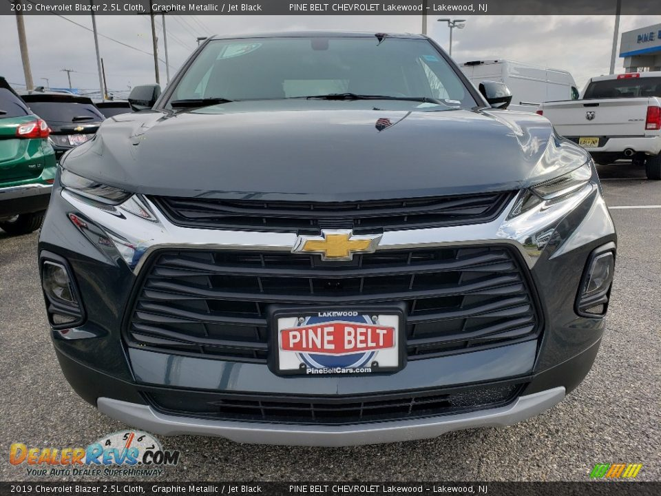 2019 Chevrolet Blazer 2.5L Cloth Graphite Metallic / Jet Black Photo #2