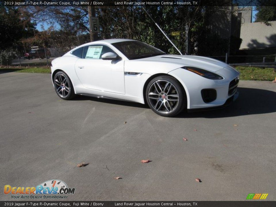 Fuji White 2019 Jaguar F-Type R-Dynamic Coupe Photo #1