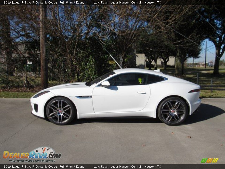 Fuji White 2019 Jaguar F-Type R-Dynamic Coupe Photo #11