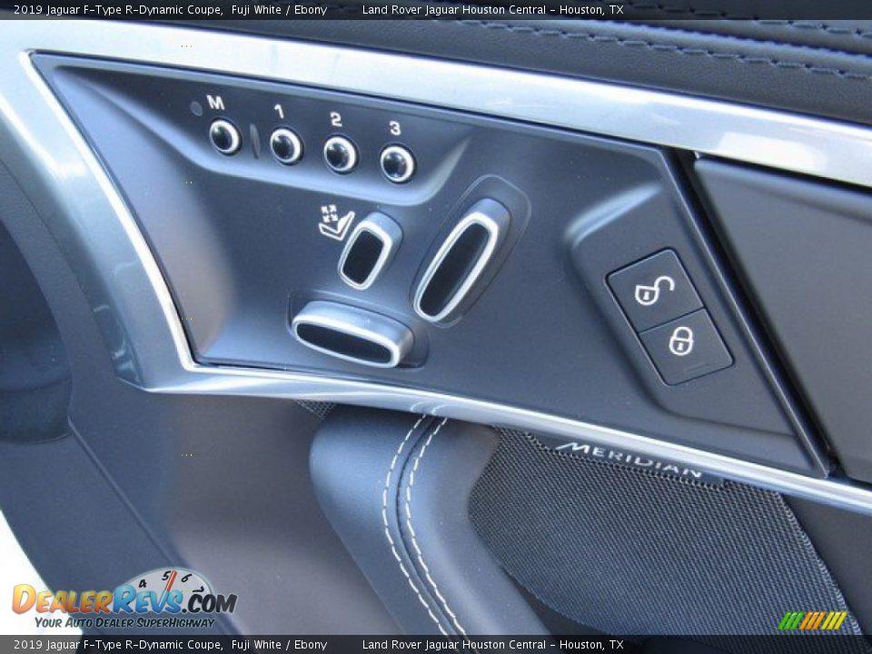 Controls of 2019 Jaguar F-Type R-Dynamic Coupe Photo #17