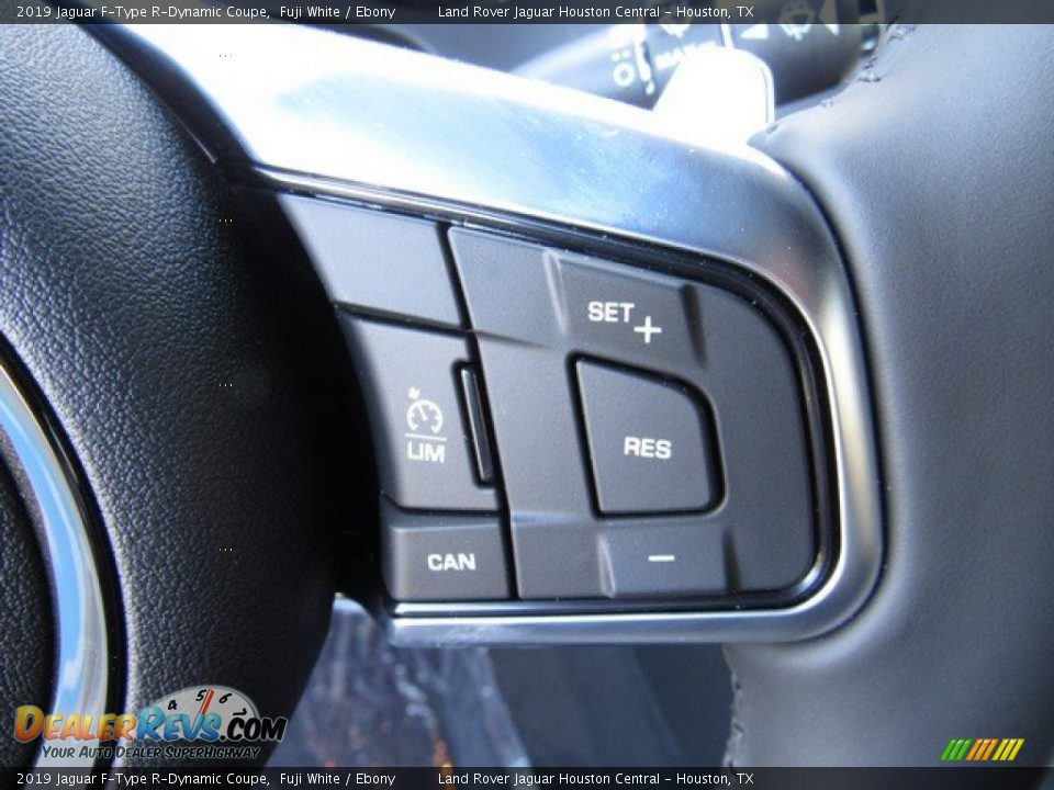 2019 Jaguar F-Type R-Dynamic Coupe Steering Wheel Photo #24