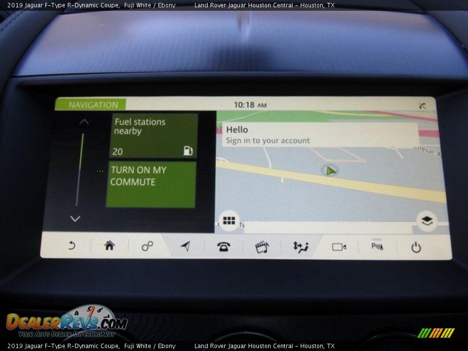 Navigation of 2019 Jaguar F-Type R-Dynamic Coupe Photo #27