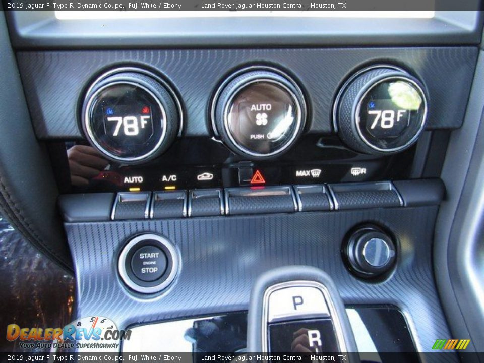 Controls of 2019 Jaguar F-Type R-Dynamic Coupe Photo #29