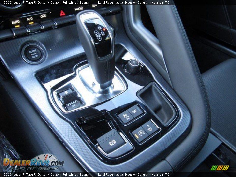 2019 Jaguar F-Type R-Dynamic Coupe Shifter Photo #30