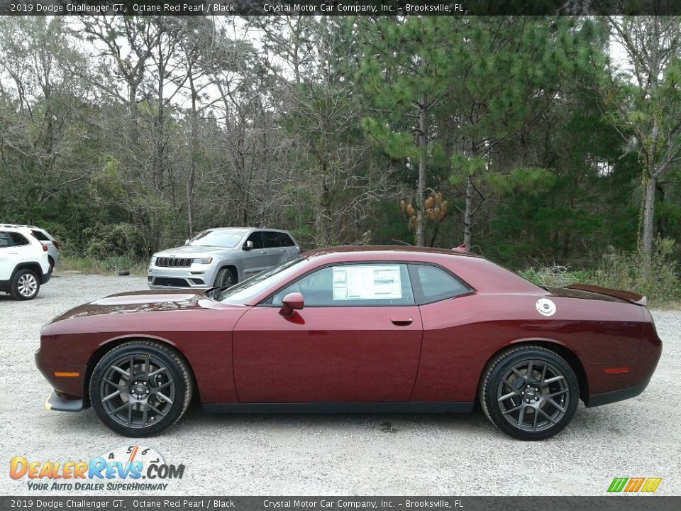 Octane Red Pearl 2019 Dodge Challenger GT Photo #2
