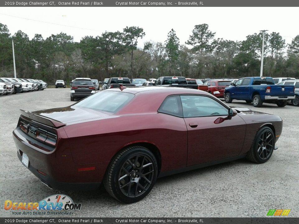 2019 Dodge Challenger GT Octane Red Pearl / Black Photo #5