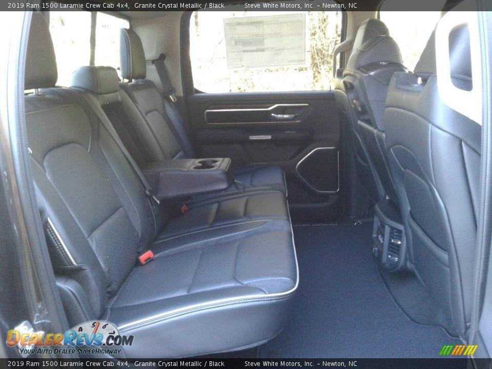 2019 Ram 1500 Laramie Crew Cab 4x4 Granite Crystal Metallic / Black Photo #15