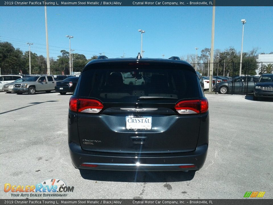 2019 Chrysler Pacifica Touring L Maximum Steel Metallic / Black/Alloy Photo #4