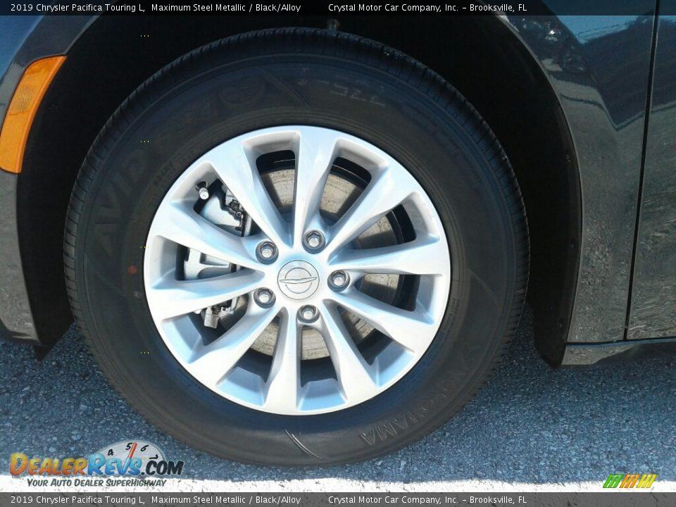 2019 Chrysler Pacifica Touring L Maximum Steel Metallic / Black/Alloy Photo #20