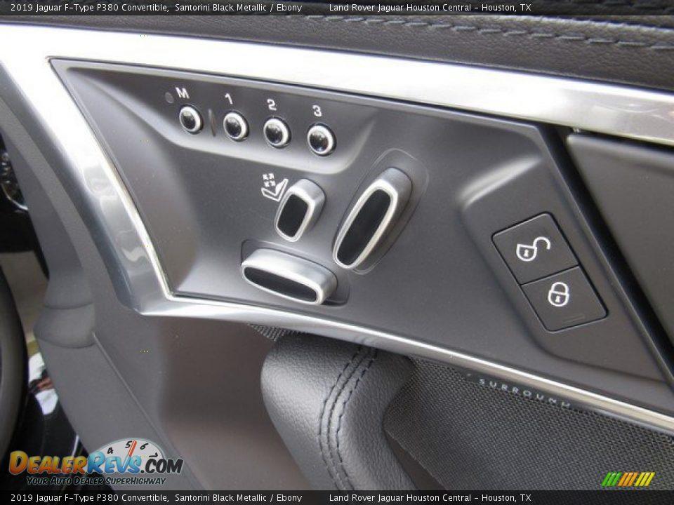 Controls of 2019 Jaguar F-Type P380 Convertible Photo #17