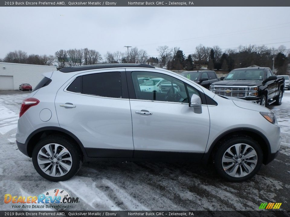 2019 Buick Encore Preferred AWD Quicksilver Metallic / Ebony Photo #4