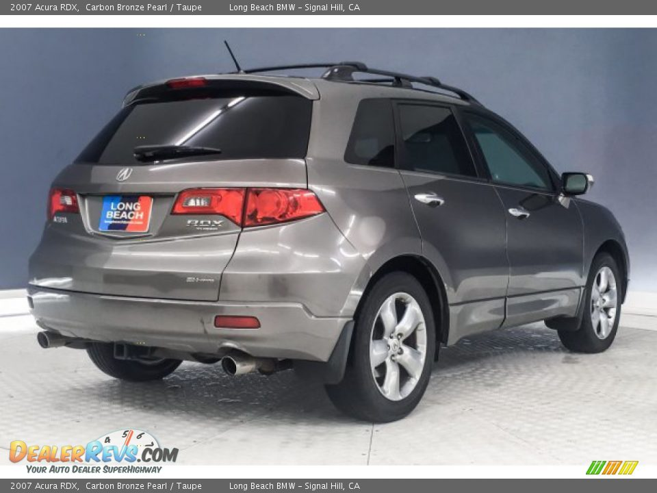 2007 Acura RDX Carbon Bronze Pearl / Taupe Photo #17