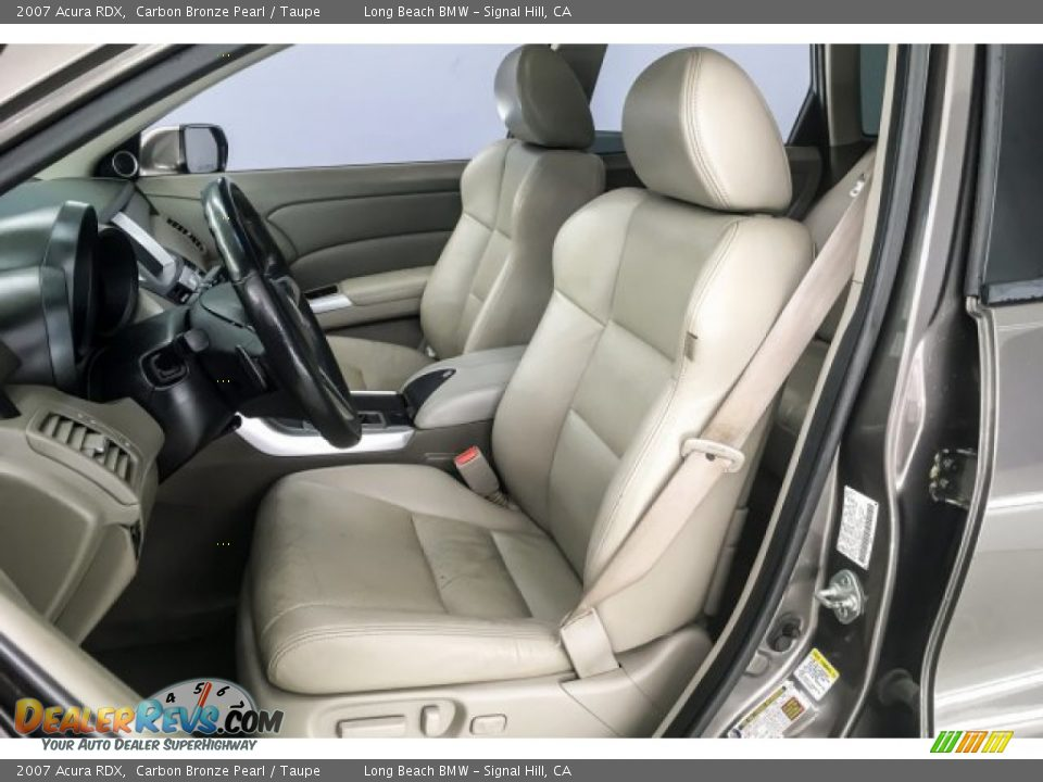 2007 Acura RDX Carbon Bronze Pearl / Taupe Photo #24