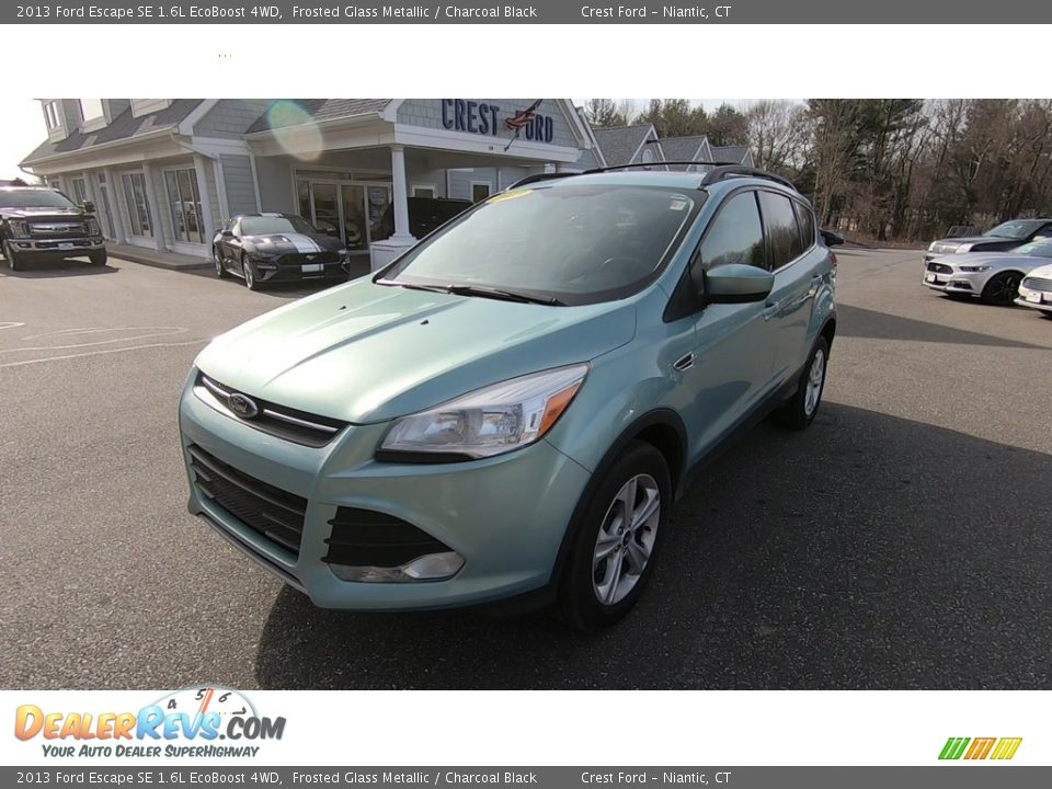 2013 Ford Escape SE 1.6L EcoBoost 4WD Frosted Glass Metallic / Charcoal Black Photo #3