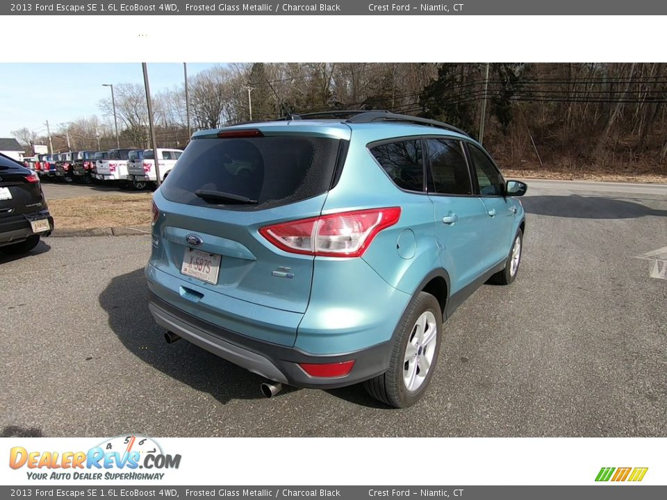 2013 Ford Escape SE 1.6L EcoBoost 4WD Frosted Glass Metallic / Charcoal Black Photo #7