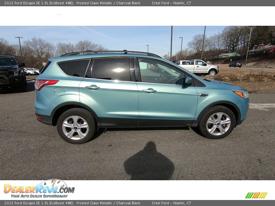 2013 Ford Escape SE 1.6L EcoBoost 4WD Frosted Glass Metallic / Charcoal Black Photo #8