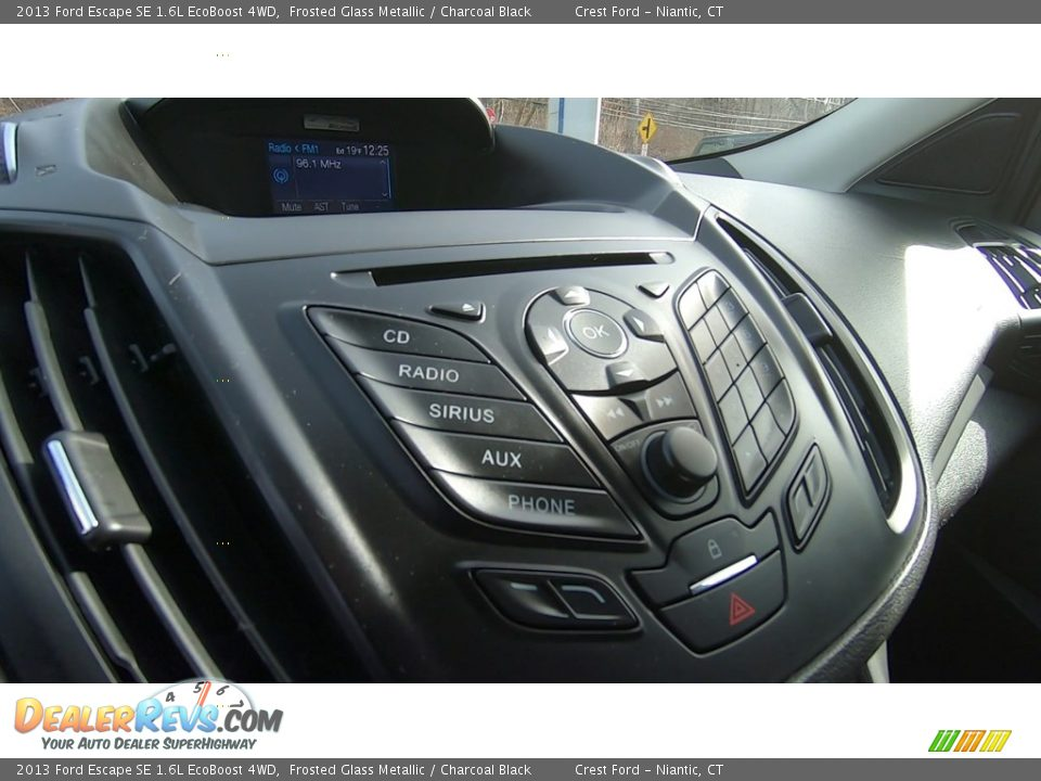 2013 Ford Escape SE 1.6L EcoBoost 4WD Frosted Glass Metallic / Charcoal Black Photo #15