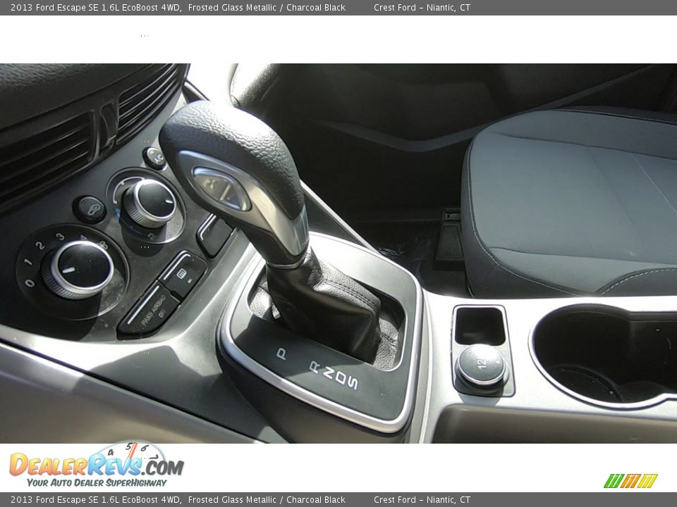 2013 Ford Escape SE 1.6L EcoBoost 4WD Frosted Glass Metallic / Charcoal Black Photo #16