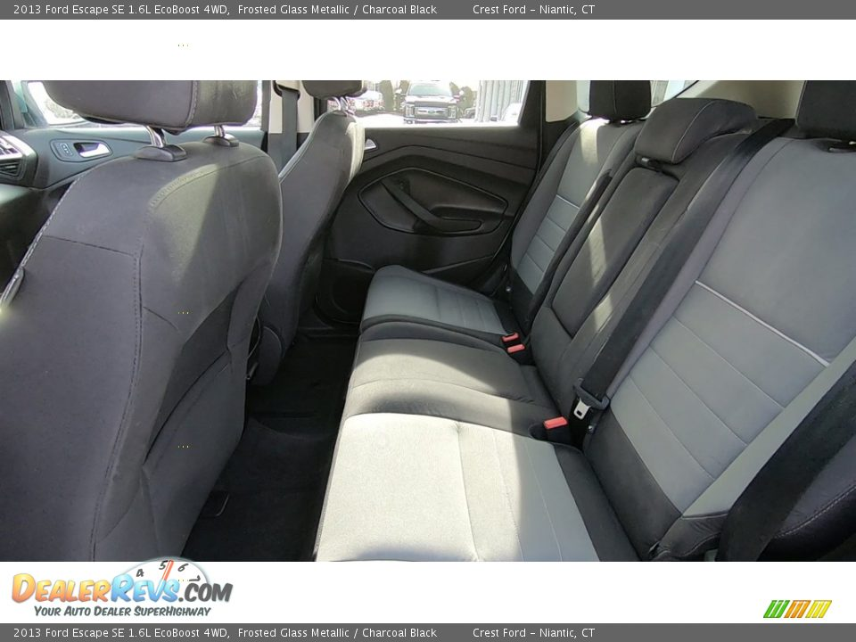 2013 Ford Escape SE 1.6L EcoBoost 4WD Frosted Glass Metallic / Charcoal Black Photo #18