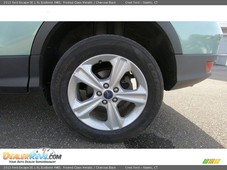 2013 Ford Escape SE 1.6L EcoBoost 4WD Frosted Glass Metallic / Charcoal Black Photo #20