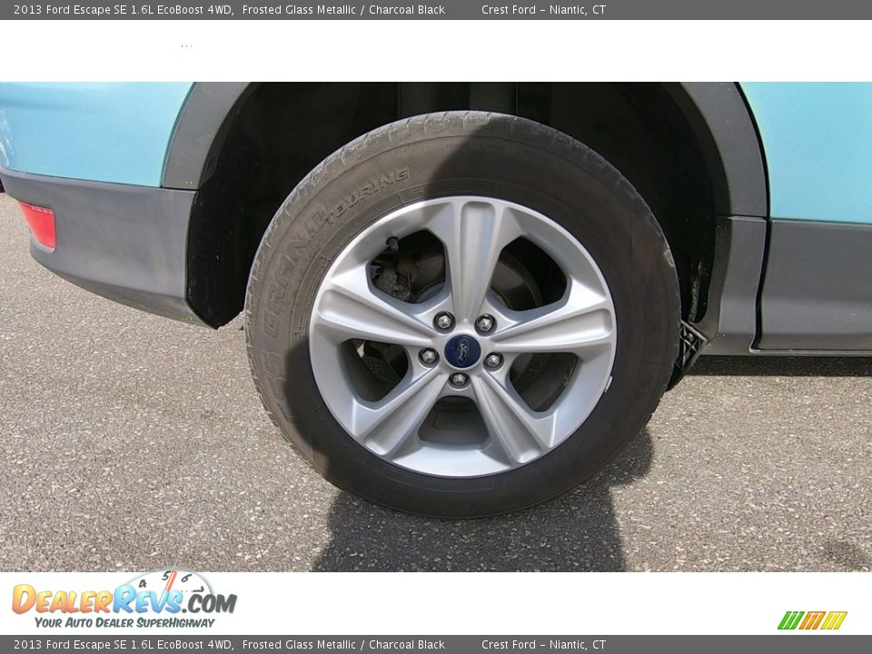 2013 Ford Escape SE 1.6L EcoBoost 4WD Frosted Glass Metallic / Charcoal Black Photo #22
