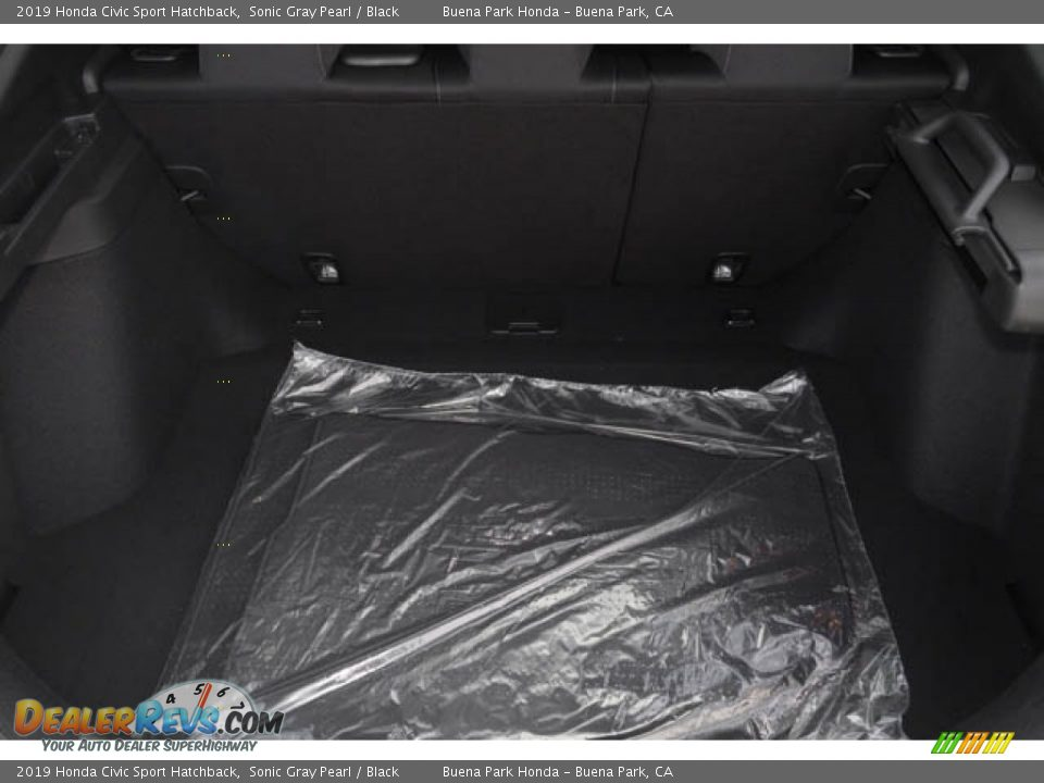 2019 Honda Civic Sport Hatchback Sonic Gray Pearl / Black Photo #25