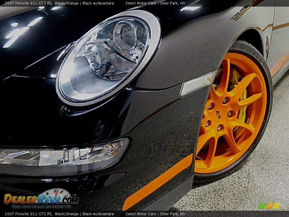 2007 Porsche 911 GT3 RS Black/Orange / Black w/Alcantara Photo #9