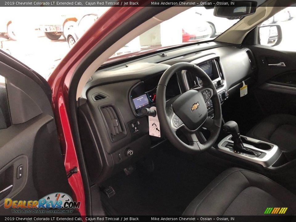 2019 Chevrolet Colorado LT Extended Cab Cajun Red Tintcoat / Jet Black Photo #7