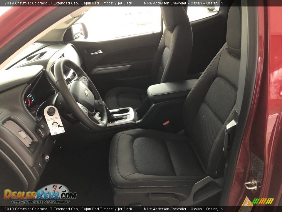 2019 Chevrolet Colorado LT Extended Cab Cajun Red Tintcoat / Jet Black Photo #8