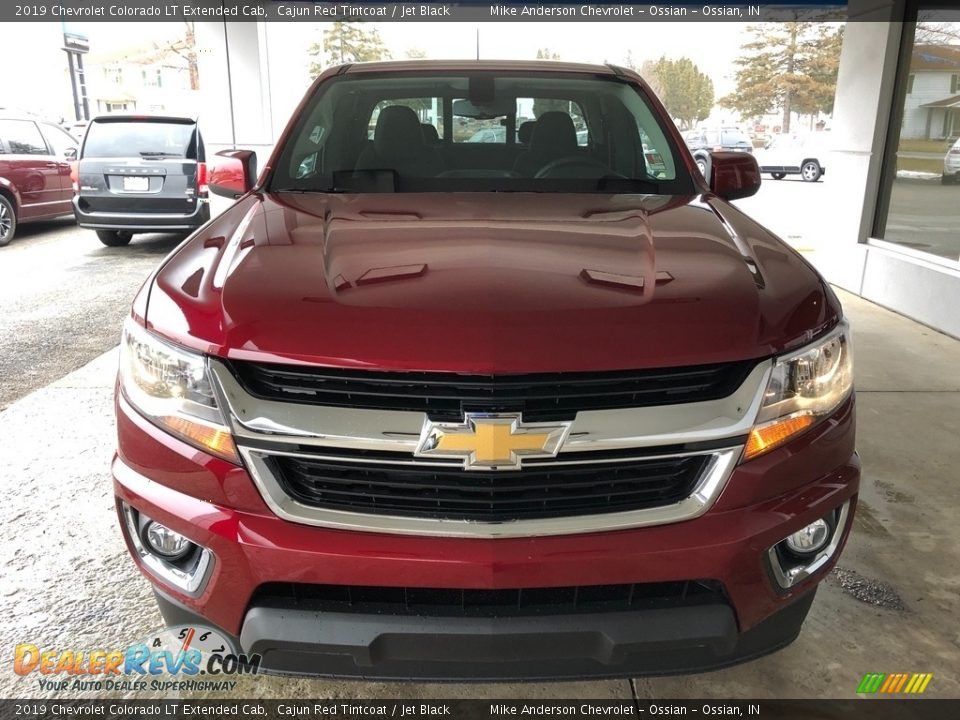 2019 Chevrolet Colorado LT Extended Cab Cajun Red Tintcoat / Jet Black Photo #12