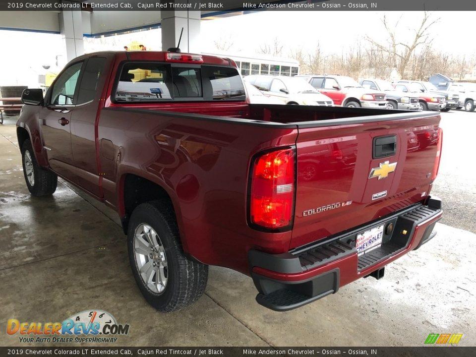 2019 Chevrolet Colorado LT Extended Cab Cajun Red Tintcoat / Jet Black Photo #17