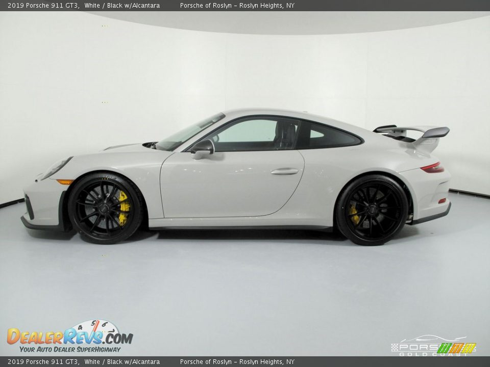 2019 Porsche 911 GT3 White / Black w/Alcantara Photo #4