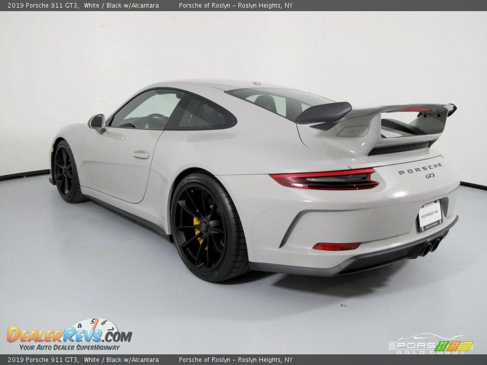 2019 Porsche 911 GT3 White / Black w/Alcantara Photo #5