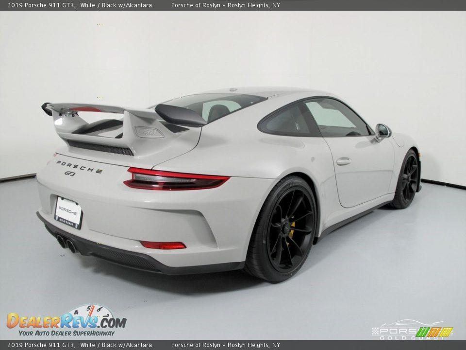 2019 Porsche 911 GT3 White / Black w/Alcantara Photo #7