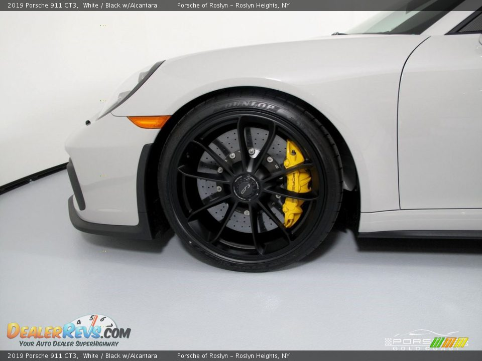 2019 Porsche 911 GT3 White / Black w/Alcantara Photo #9