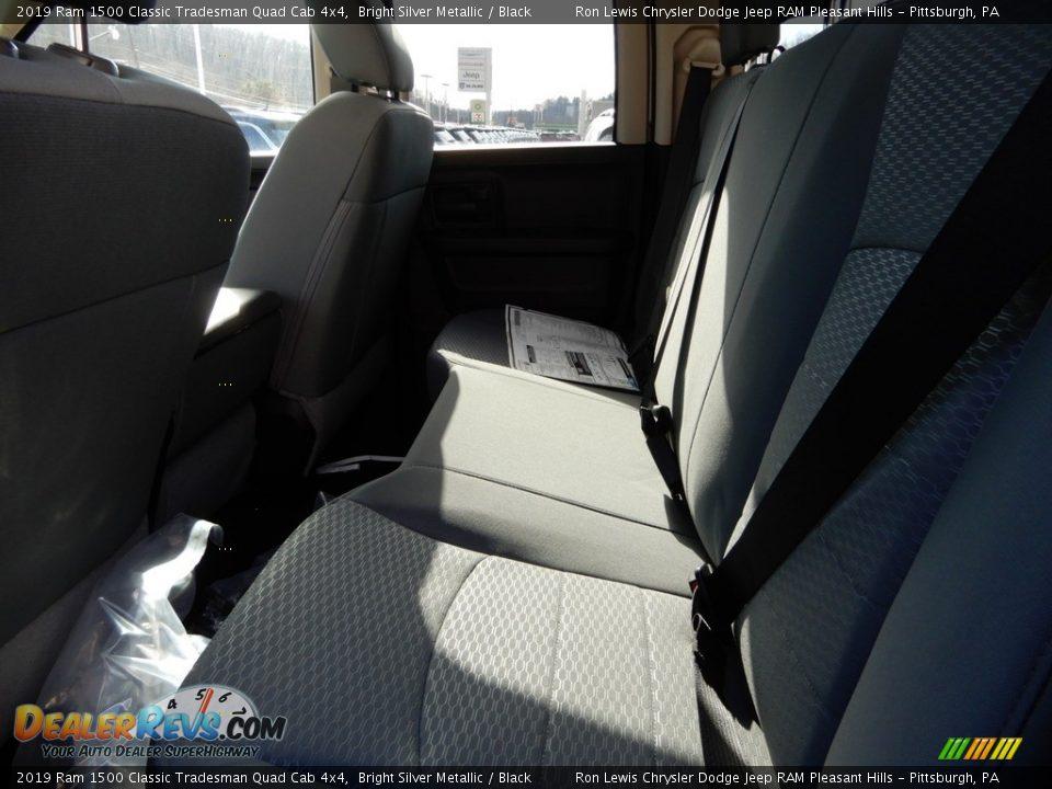 2019 Ram 1500 Classic Tradesman Quad Cab 4x4 Bright Silver Metallic / Black Photo #12