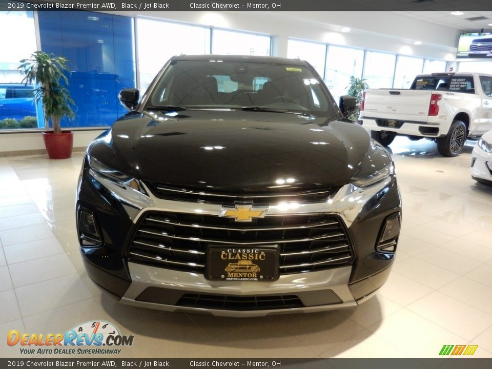 2019 Chevrolet Blazer Premier AWD Black / Jet Black Photo #2