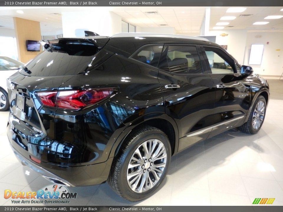 2019 Chevrolet Blazer Premier AWD Black / Jet Black Photo #4