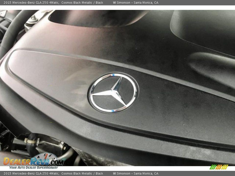 2015 Mercedes-Benz GLA 250 4Matic Cosmos Black Metallic / Black Photo #32
