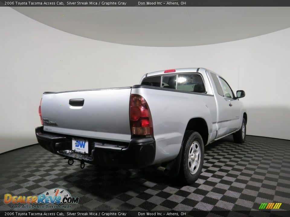 2006 Toyota Tacoma Access Cab Silver Streak Mica / Graphite Gray Photo #15