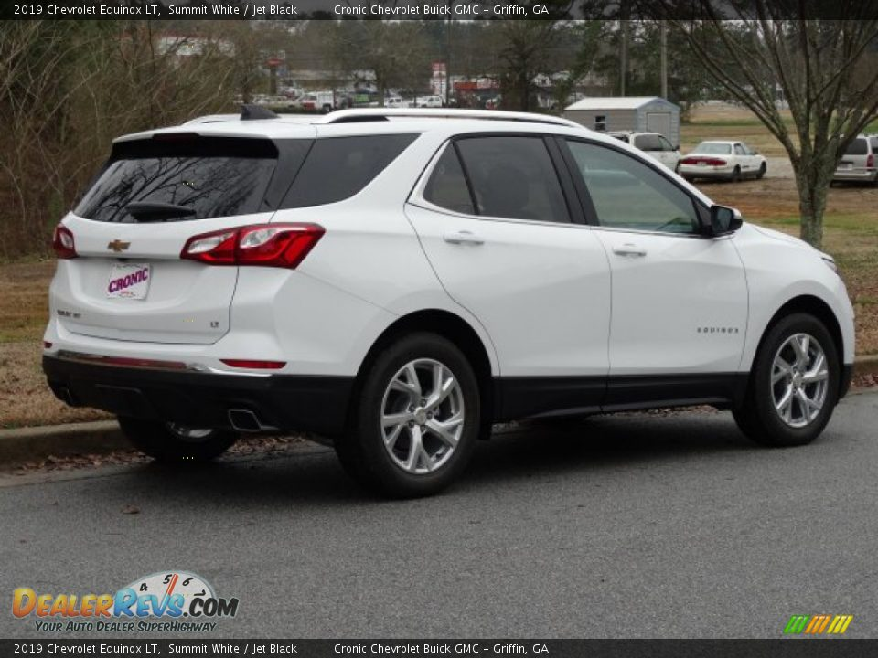 2019 Chevrolet Equinox LT Summit White / Jet Black Photo #3